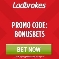 Ladbrokes Sports Promo Code BONUSBETS £50 Free Bet