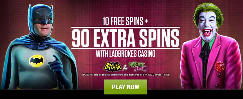 Ladbrokes casino 600 free spins