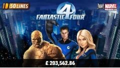 Fantastic Four Slot Machine
