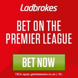 Ladbrokes Mid-Week Enhanced Offers – Bournemouth v Man City 9/4