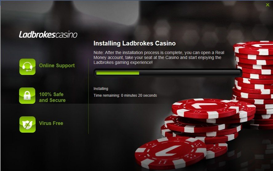 Ladbrokes Casino Installation Process