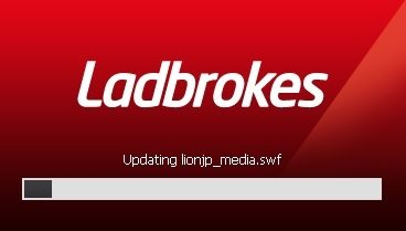 Ladbrokes Casino Updating Window