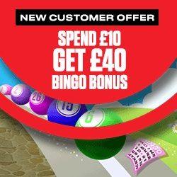 Ladbrokes Promo Code PROMOBET for £40 Bingo Bonus